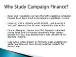 why study campaign finance2