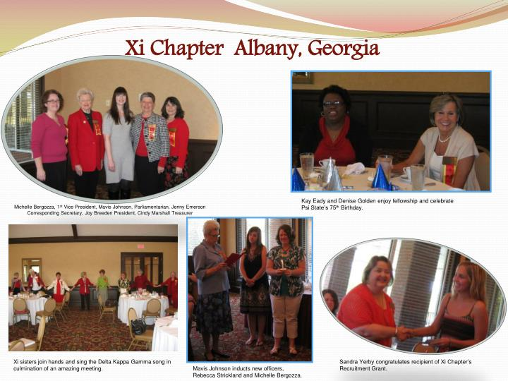 xi chapter albany georgia n.