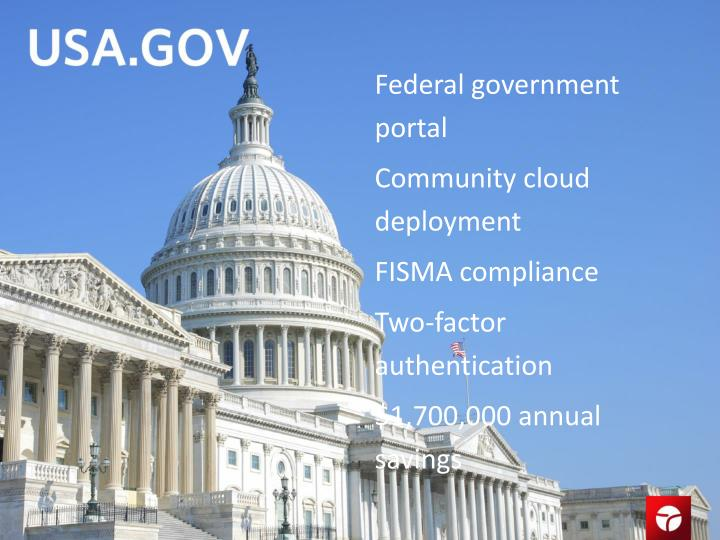 Federal government portal