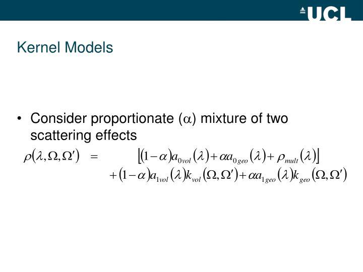 Kernel Models
