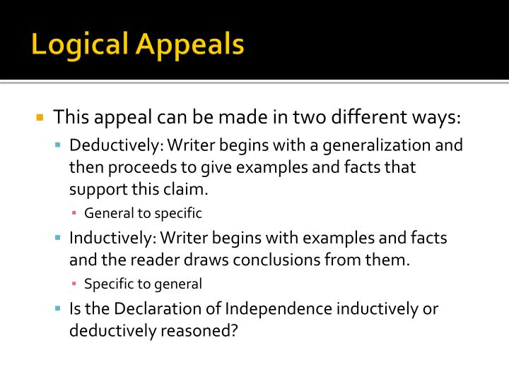 Logical Appeals
