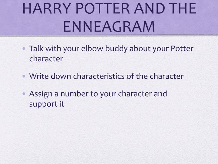 HARRY POTTER AND THE ENNEAGRAM
