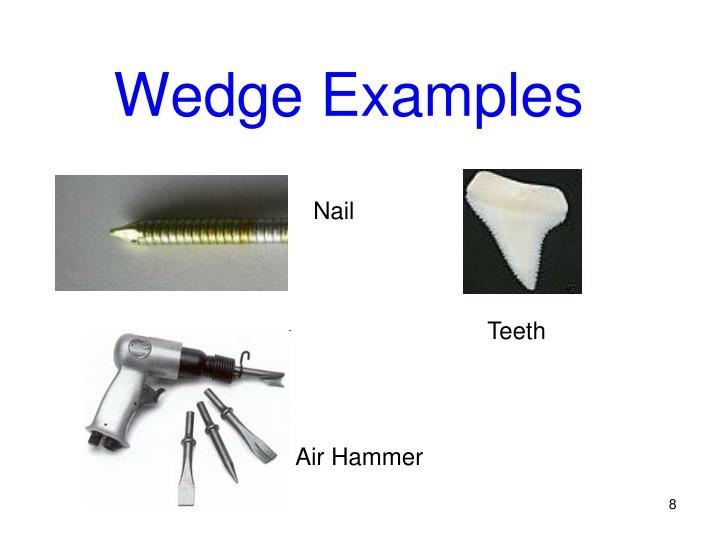 Examples Of Wedges PPT - Inclined Plane P...