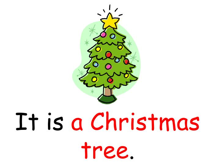 It is a christmas tree