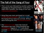 the fall of the gang of four1