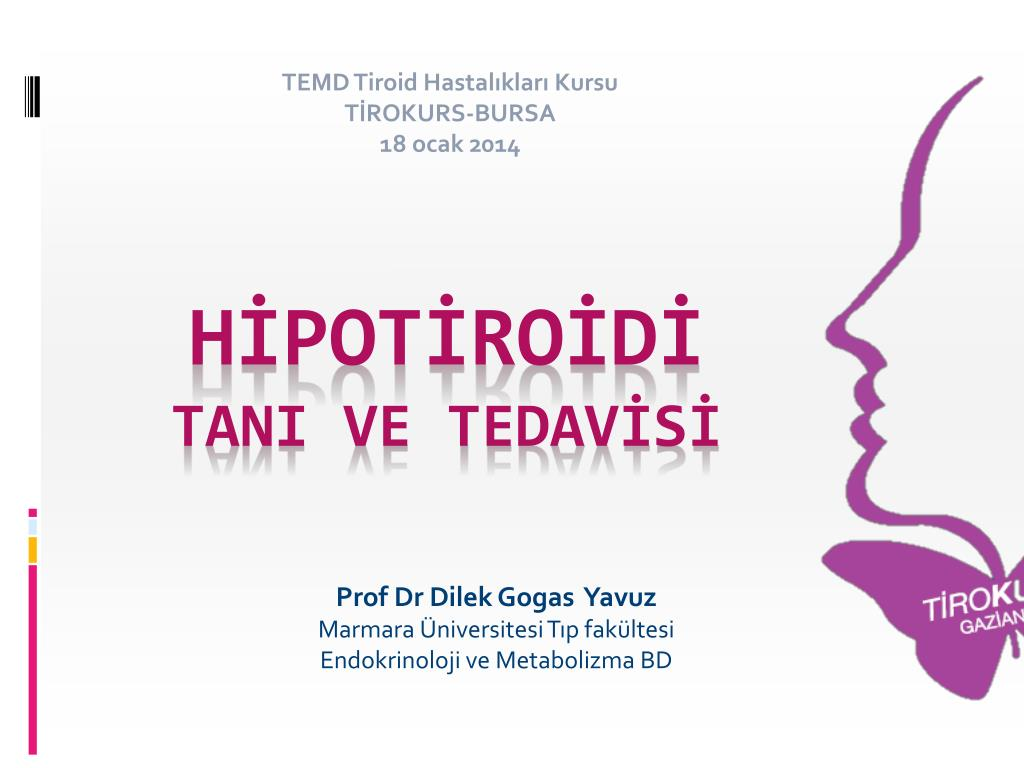 Hipotiroidi. Bu patoloji nedir