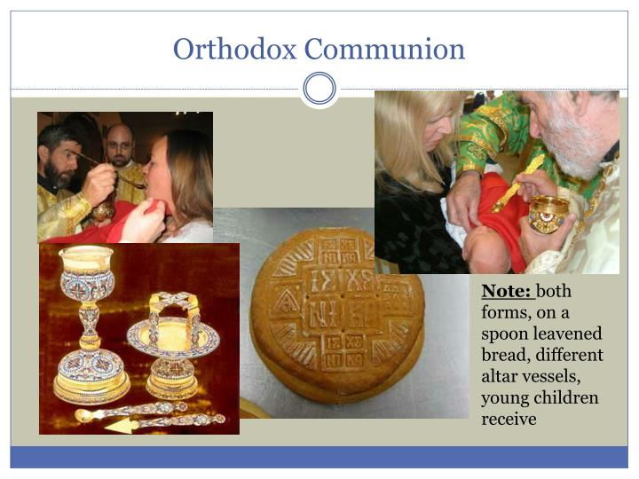 Orthodox Communion