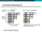 inverted indexing 1