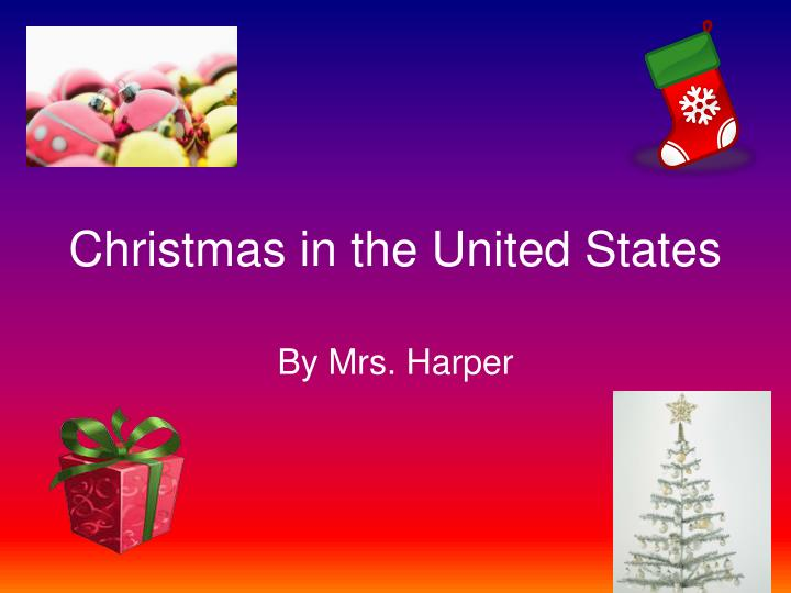 christmas in the united states n.