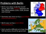 problems with berlin