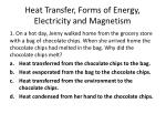 heat transfer forms of energy electricity and magnetism