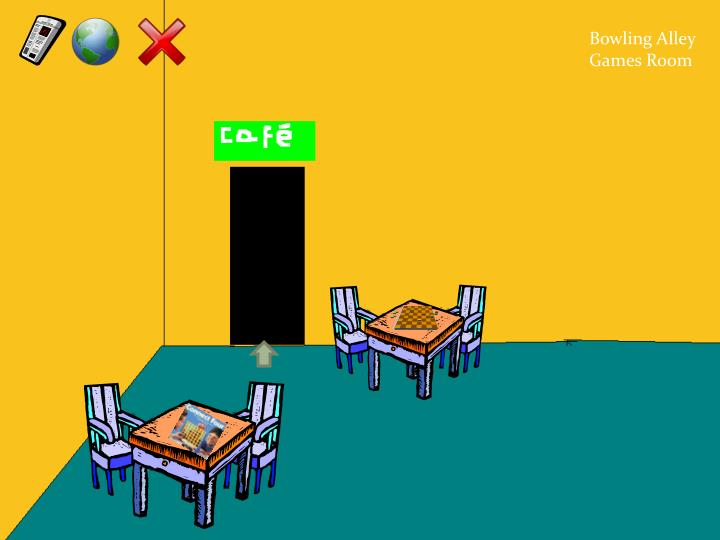 Bowling Alley Games Room