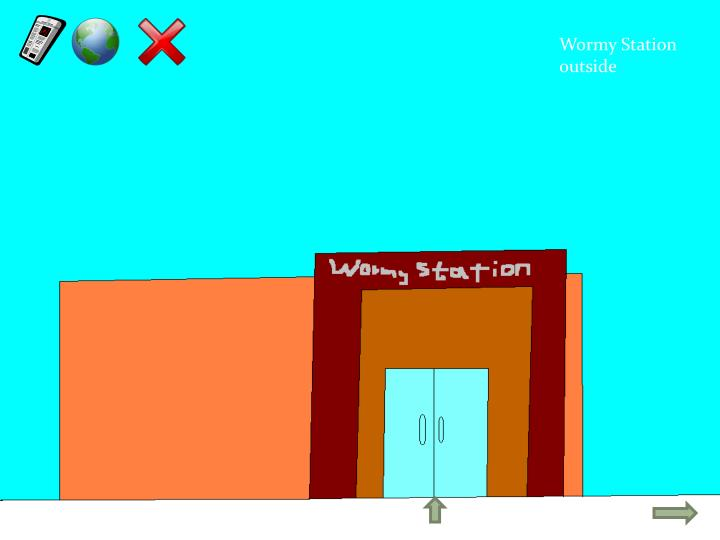Wormy Station outside