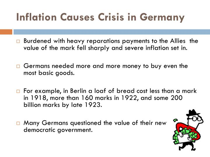 Inflation Causes Crisis in Germany