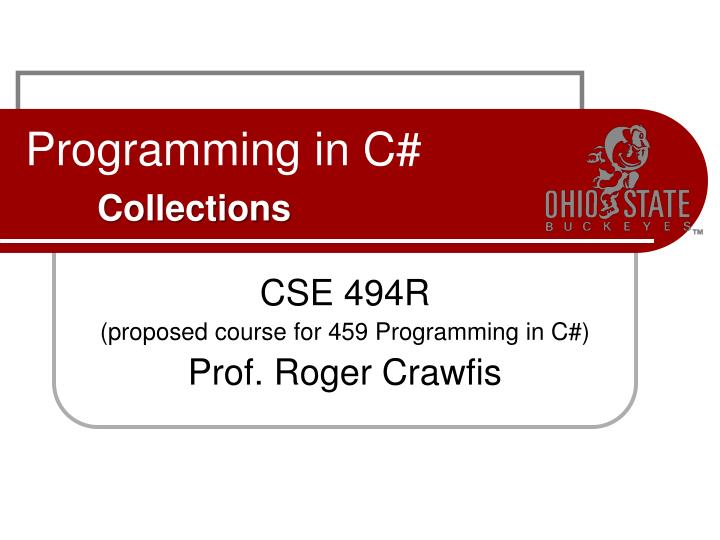 programming in c collections n.