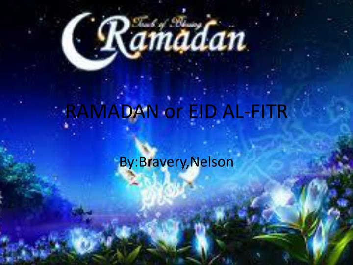 ppt - ramadan or eid al-fitr powerpoint presentation - id:2445298, Powerpoint templates