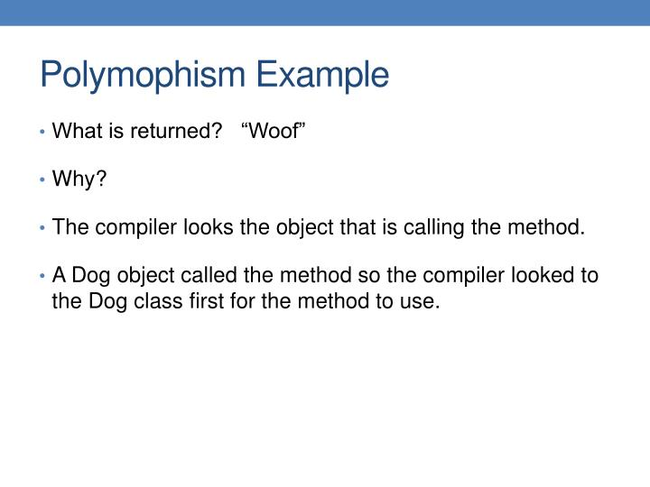 Polymophism