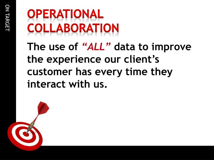 Operational Collaboration