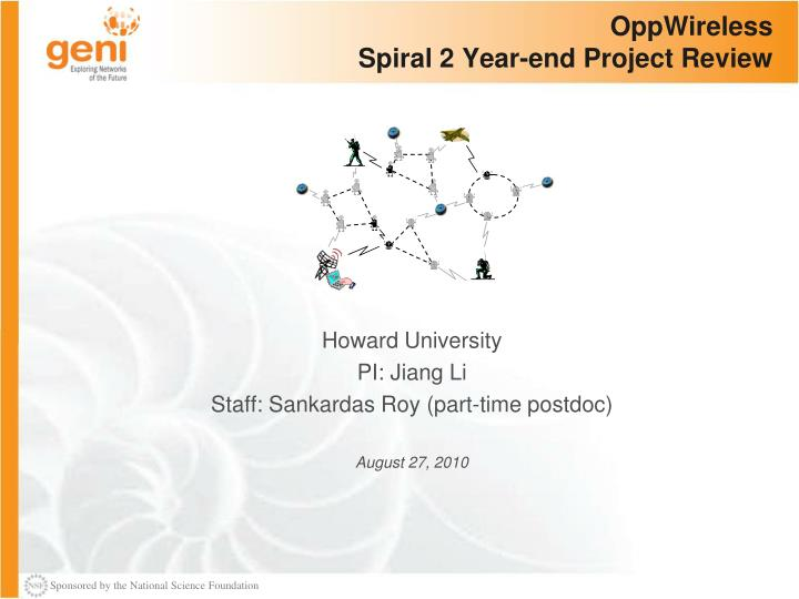 oppwireless spiral 2 year end project review n.