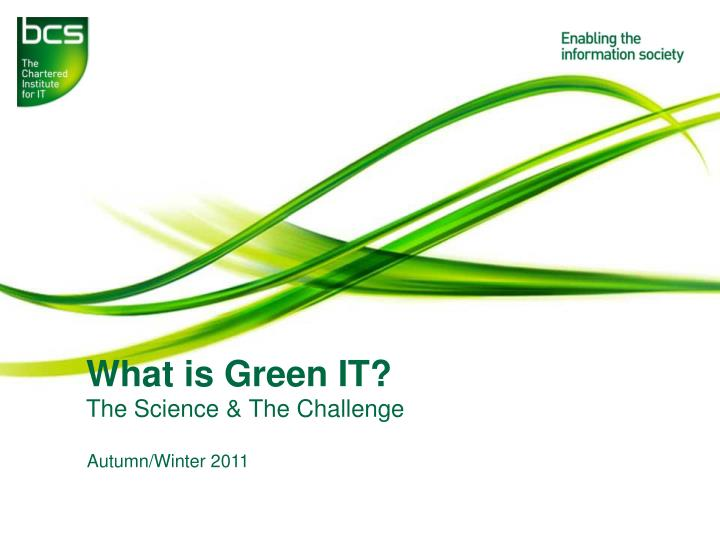 what is green it n.