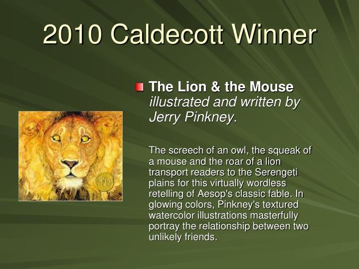 2010 Caldecott Winner