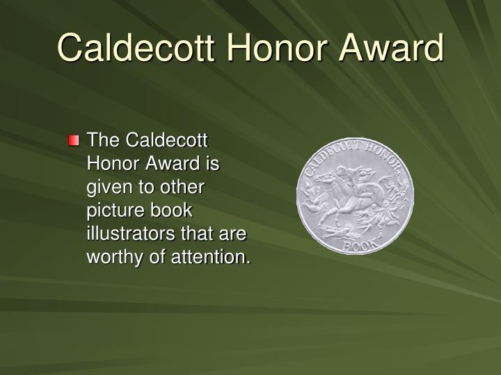 Caldecott Honor Award