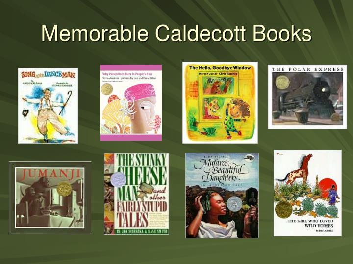 Memorable Caldecott Books