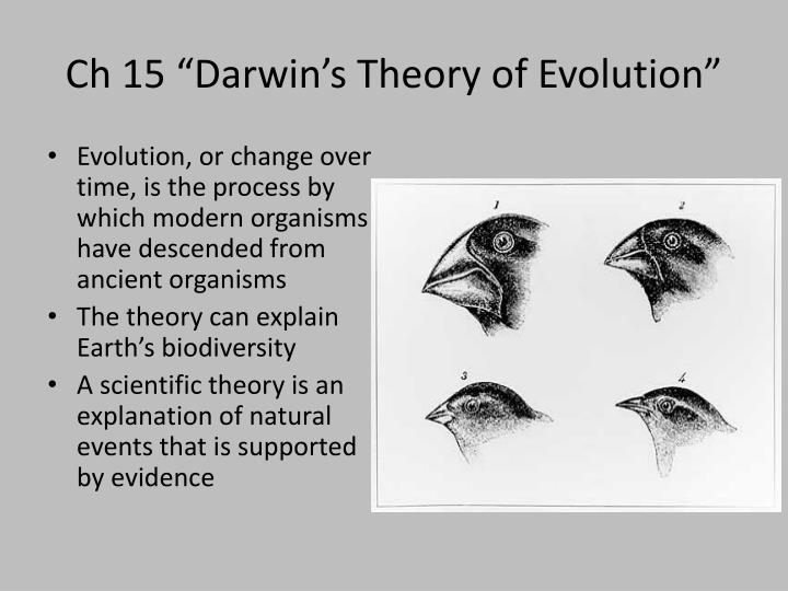 Darwin S Theory Of Natural Selection Ch