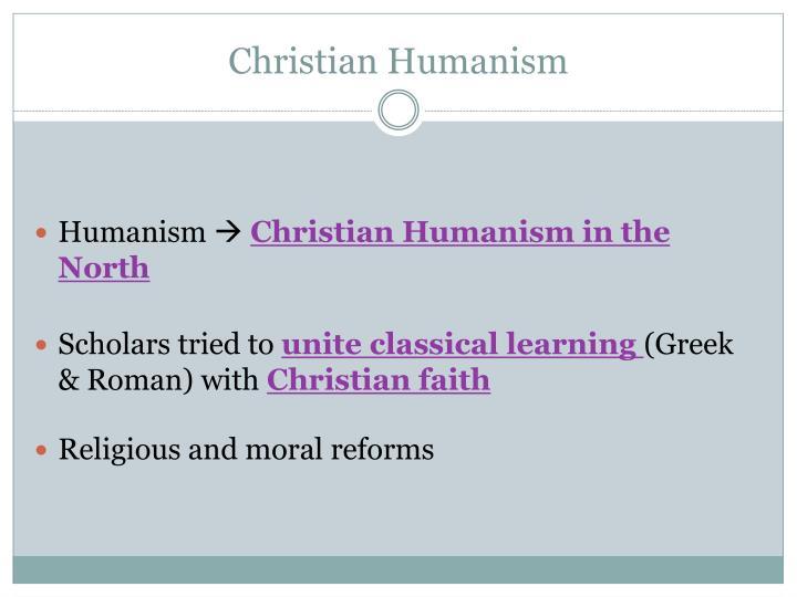 Christian Humanism