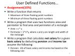 user defined functions2