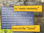 easter the history2