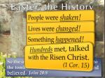 easter the history3