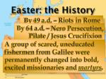easter the history4