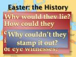 easter the history5