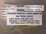 yaweh the god over history9