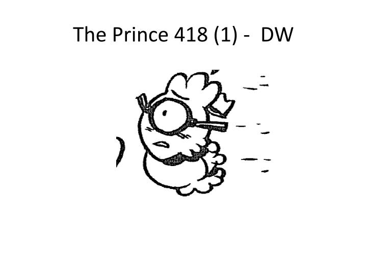 The Prince 418 (1) -  DW