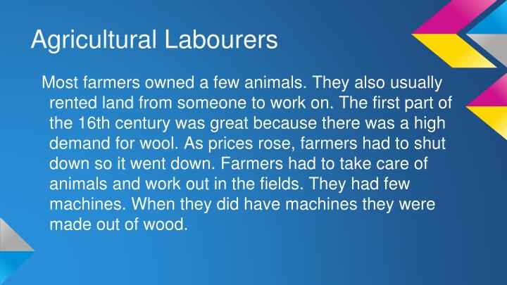 Agricultural Labourers