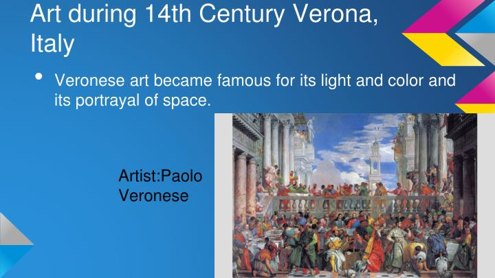 Art during 14th Century Verona, Italy