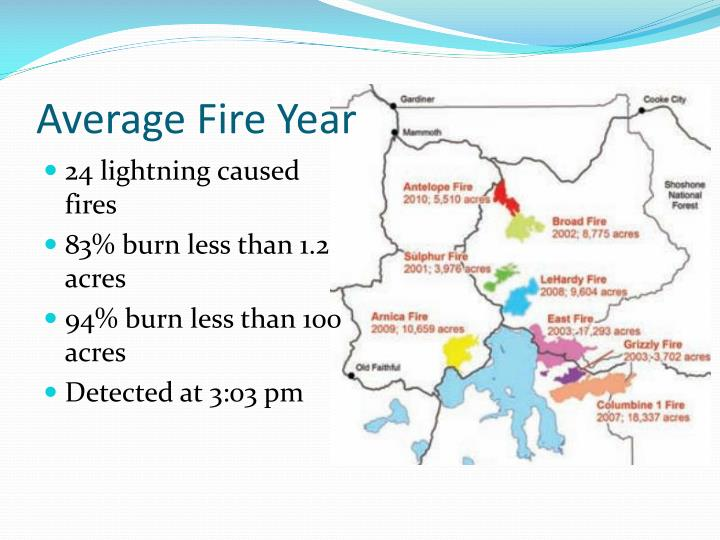 Average Fire Year