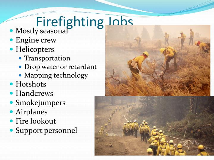 Firefighting Jobs