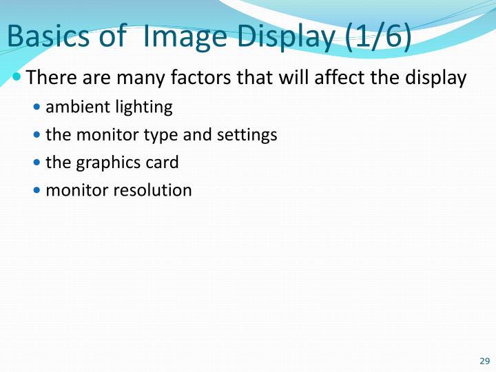 Basics of  Image
