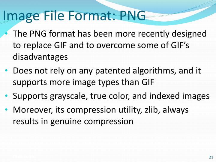 Image File Format: PNG