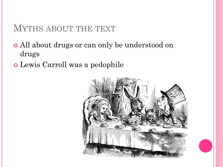 Myths about the text