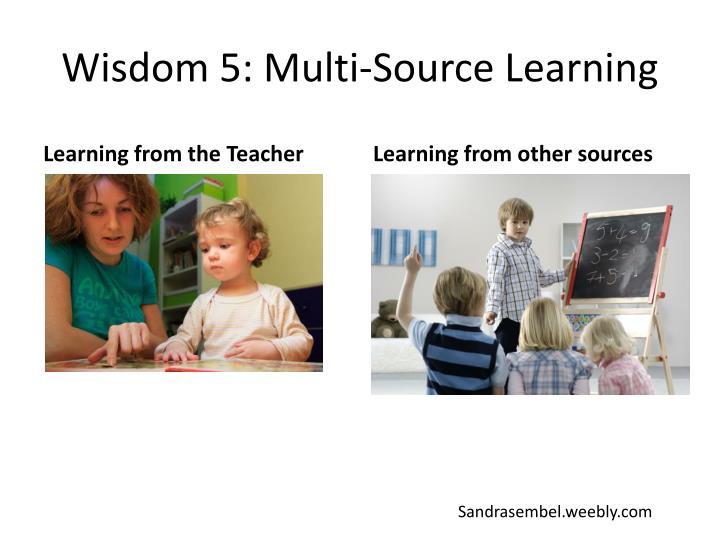 Wisdom 5: