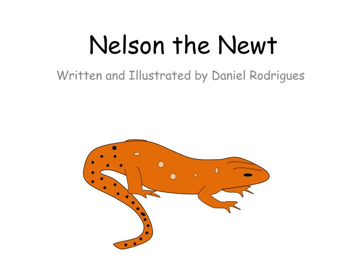 nelson the newt n.