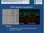 cor register waveform1