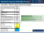 mactavish insurance materiality analysis12