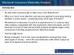 mactavish insurance materiality analysis3