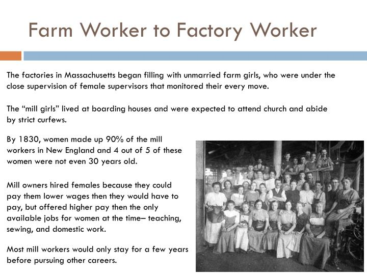 Farm Worker to Factory Worker