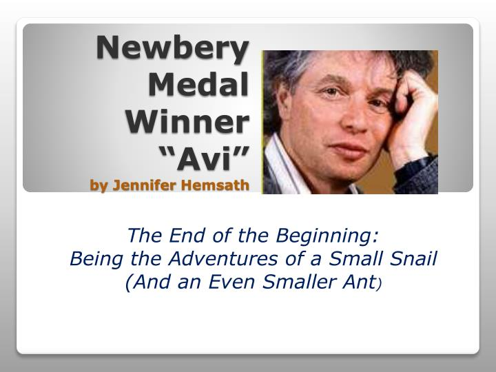 newbery medal winner avi by jennifer hemsath n.